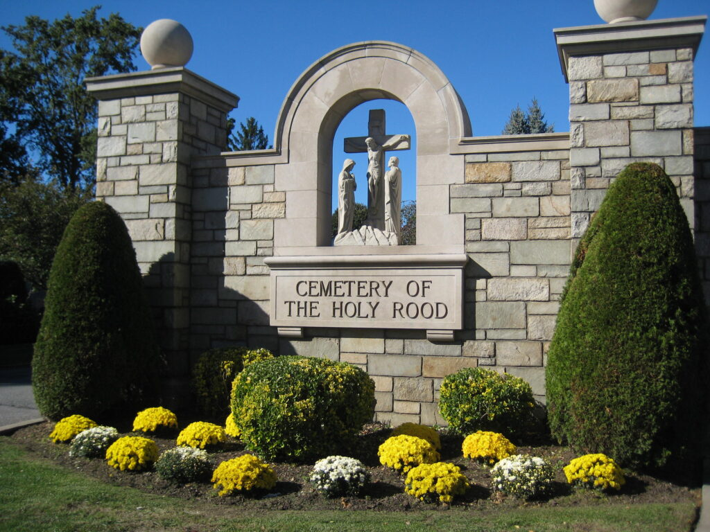 Entrance image of Cemetery of the Holy Rood