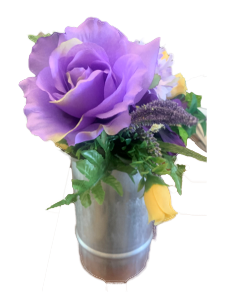 Aluminum Bouquet Holder